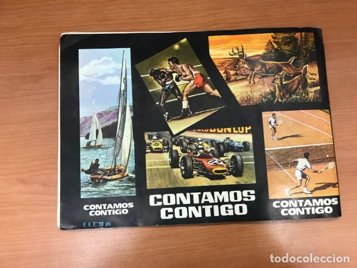 Coleccionismo Álbumes: ALBUM CONTAMO CONTIGO 1968 INCOMPLETO 134 CROMO PEGADOS - Foto 23 - 194899716