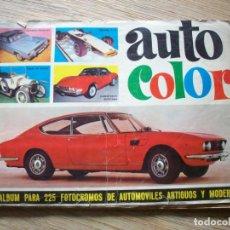 Coleccionismo Álbumes: AUTO COLOR . EDITORIAL BRUGUERA - 1967. Lote 194934702