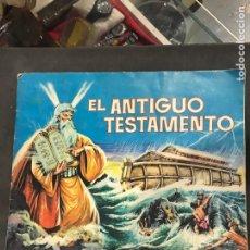 Coleccionismo Álbumes: ÁLBUM DE CROMOS DE EL ANTIGUO TESTAMENTO DE 1968. Lote 194934710