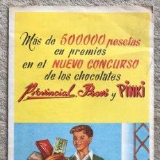 Coleccionismo Álbumes: RARO ÁLBUM DE FÚTBOL REAL MADRID, BARCELONA Y ATLÉTICO DE BILBAO -CHOCOLATES PROVINCIAL, PROVI Y PI. Lote 194950430