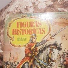 Coleccionismo Álbumes: ALBUM FIGURAS HISTORICAS INCOMPLETO. Lote 194974395