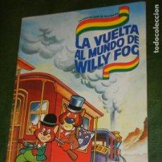 Coleccionismo Álbumes: ALBUM LA VUELTA AL MUNDO DE WILLY FOG - DANONE - FALTANDO 2 CROMOS 19 Y 29. Lote 195045346
