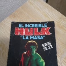 Coleccionismo Álbumes: ALBUM LA MASA INCREIBLE HULK DE FHER . Lote 195048945