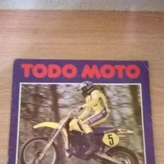 Coleccionismo Álbumes: ÁLBUM CROMOS TODO MOTO . Lote 195055655