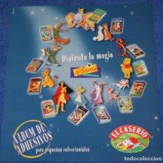 Coleccionismo Álbumes: DINSEY VIDEOS - EL CASERÍO (2000) ¡ALBUM VACÍO!. Lote 195059735
