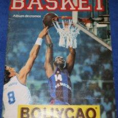Coleccionismo Álbumes: BASKET 88 - BOLLYCAO - PANRICO ¡ALBUM VACÍO!. Lote 195059770
