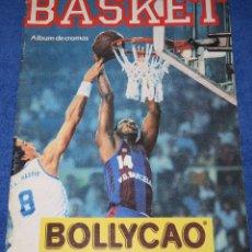 Coleccionismo Álbumes: BASKET 88 - BOLLYCAO - PANRICO. Lote 195059775