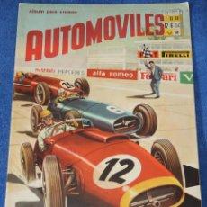 Coleccionismo Álbumes: AUTOMÓVILES - FHER (1958) ¡ALBUM PLANCHA!. Lote 195059802