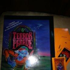 Coleccionismo Álbumes: ALBUM TERROR PARADE CASI COMPLETO Y 45 CROMOS SIN PEGAR - EDITOR PANDILLA BASURA J.MERCHANTE 1991. Lote 195140067