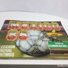 Coleccionismo Álbumes: ALBUM FUTBOL MEXICO 86. Lote 195176498