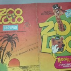 Coleccionismo Álbumes: ALBUM ZOO LOCO CROPAN VACIO. Lote 195193011