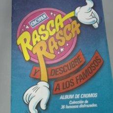 Coleccionismo Álbumes: ALBUM RASCA RASCA CROPAN VACIO. Lote 195193168