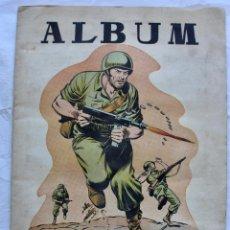 Coleccionismo Álbumes: ALBUM HAZAÑAS BELICAS HISTORIA DE LA SEGUNDA GUERRA- FALTAN 27 CROMOS.. Lote 195195115