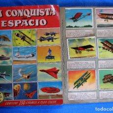 Coleccionismo Álbumes: LOTE DE CROMOS. CROMOS SUELTOS; 0,50 €. LA CONQUISTA DEL ESPACIO. FRANCISCO BRUGUERA, 1956.. Lote 195205352