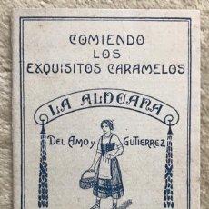 Coleccionismo Álbumes: MUY RARO ÁLBUM DE CARAMELOS LA ALDEANA - BILBAO - EQUIPOS FÚTBOL DE CATALUÑA - AÑOS 20/30 - PLANCHA. Lote 195214145