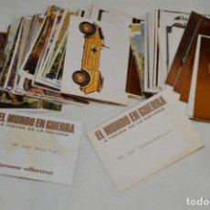 Coleccionismo Álbumes: OPORTUNIDAD, 190 CROMOS, NUEVOS / SIN PEGAR - EL MUNDO EN GUERRA - EDITORIAL MAGA ¡MIRA!. Lote 195225787