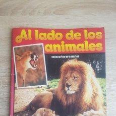 Coleccionismo Álbumes: ÁLBUM AL LADO DE LOS ANIMALES, CONOCERLOS ES AMARLOS TELE INDISCRETA 1985. Lote 195243676