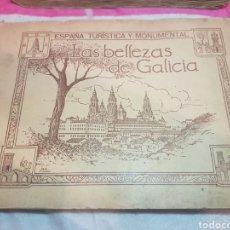 Coleccionismo Álbumes: ALBUM LAS BELLEZAS DE GALICIA. Lote 195244507