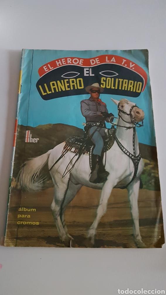 ALBUM EL LLANERO SOLITARIO EDITORIAL FHER (Coleccionismo - Cromos y Álbumes - Álbumes Incompletos)