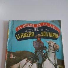 Coleccionismo Álbumes: ALBUM EL LLANERO SOLITARIO EDITORIAL FHER. Lote 195318686
