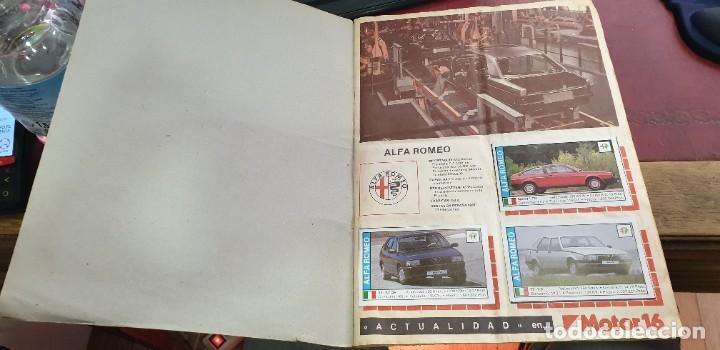 Coleccionismo Álbumes: Album coches coleccion de cromos faltan 10 cromos - Foto 2 - 195366437