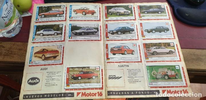 Coleccionismo Álbumes: Album coches coleccion de cromos faltan 10 cromos - Foto 3 - 195366437