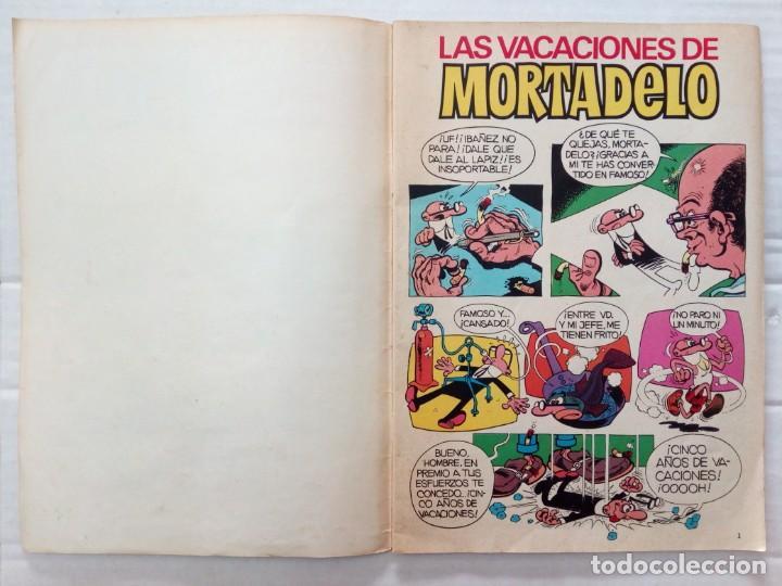 Coleccionismo Álbumes: LAS VACACIONES DE MORTADELO, INCOMPLETO. VER FOTOS Y DESCRIPCIÓN - Foto 2 - 195366907