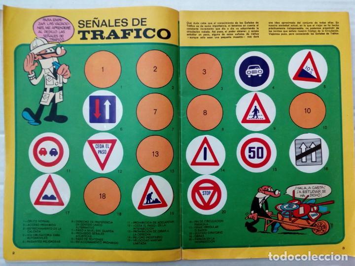 Coleccionismo Álbumes: LAS VACACIONES DE MORTADELO, INCOMPLETO. VER FOTOS Y DESCRIPCIÓN - Foto 3 - 195366907