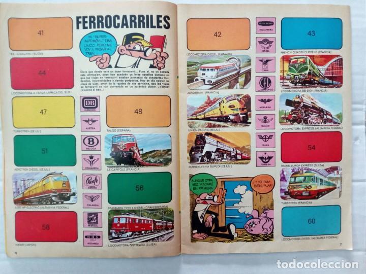 Coleccionismo Álbumes: LAS VACACIONES DE MORTADELO, INCOMPLETO. VER FOTOS Y DESCRIPCIÓN - Foto 5 - 195366907