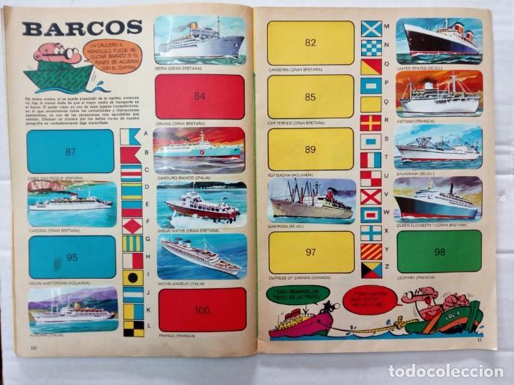 Coleccionismo Álbumes: LAS VACACIONES DE MORTADELO, INCOMPLETO. VER FOTOS Y DESCRIPCIÓN - Foto 7 - 195366907
