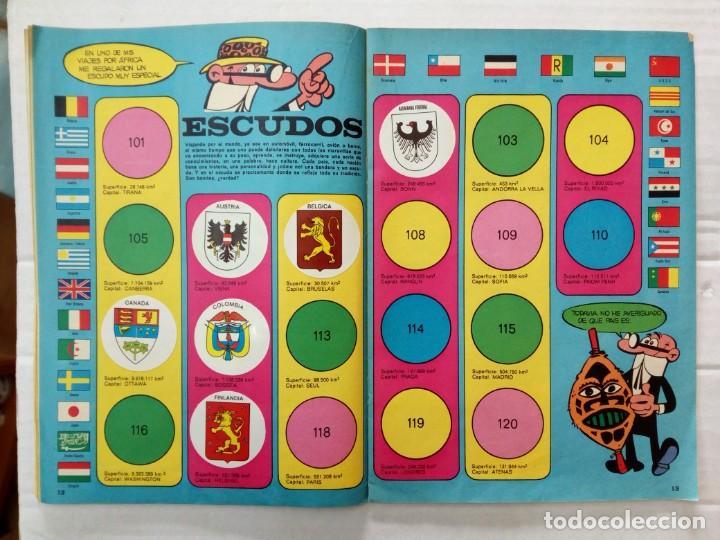 Coleccionismo Álbumes: LAS VACACIONES DE MORTADELO, INCOMPLETO. VER FOTOS Y DESCRIPCIÓN - Foto 8 - 195366907