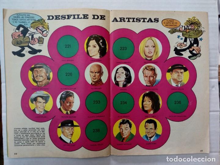 Coleccionismo Álbumes: LAS VACACIONES DE MORTADELO, INCOMPLETO. VER FOTOS Y DESCRIPCIÓN - Foto 14 - 195366907