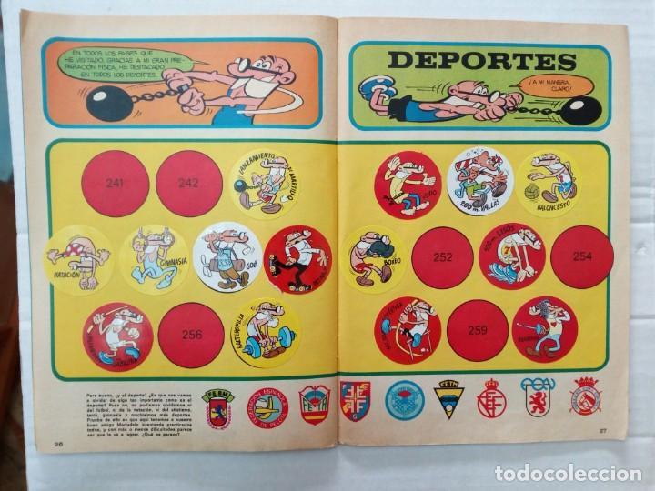 Coleccionismo Álbumes: LAS VACACIONES DE MORTADELO, INCOMPLETO. VER FOTOS Y DESCRIPCIÓN - Foto 15 - 195366907