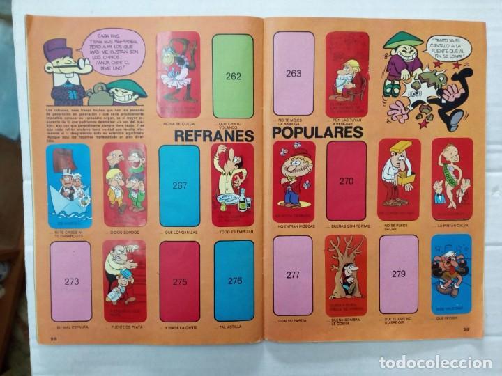 Coleccionismo Álbumes: LAS VACACIONES DE MORTADELO, INCOMPLETO. VER FOTOS Y DESCRIPCIÓN - Foto 16 - 195366907
