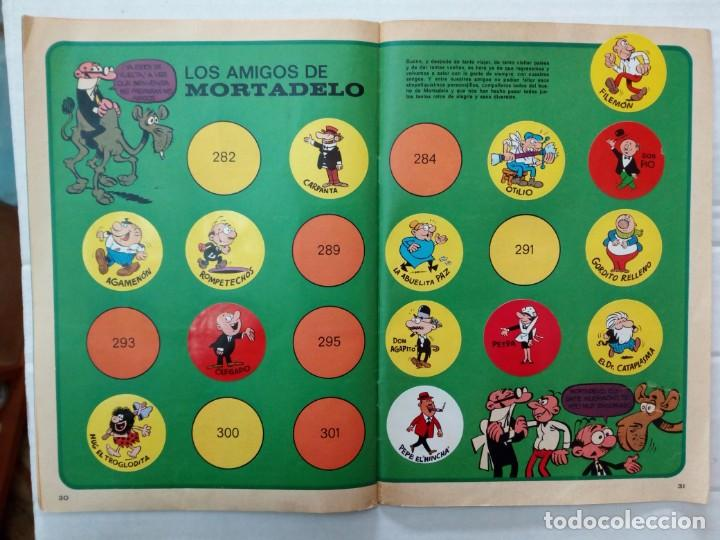 Coleccionismo Álbumes: LAS VACACIONES DE MORTADELO, INCOMPLETO. VER FOTOS Y DESCRIPCIÓN - Foto 17 - 195366907