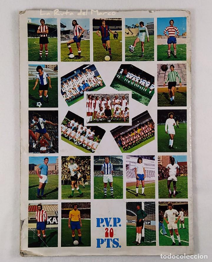Coleccionismo Álbumes: Campeonato de liga 1975-76 - Álbum de cromos de fútbol - Faltan fichajes de última hora - Foto 2 - 195384837