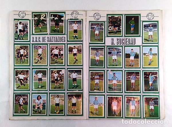 Coleccionismo Álbumes: Campeonato de liga 1975-76 - Álbum de cromos de fútbol - Faltan fichajes de última hora - Foto 9 - 195384837