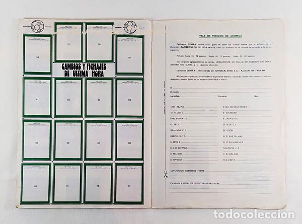 Coleccionismo Álbumes: Campeonato de liga 1975-76 - Álbum de cromos de fútbol - Faltan fichajes de última hora - Foto 16 - 195384837