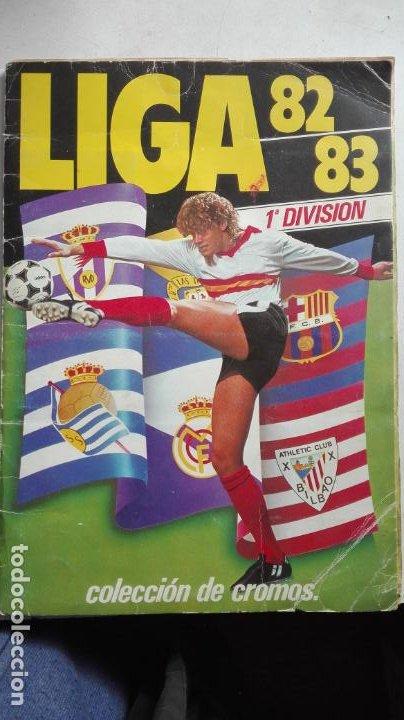 ESTE 82 83 1982 1983 CON 150 CROMOS (Coleccionismo - Cromos y Álbumes - Álbumes Incompletos)