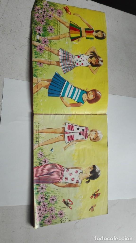 Coleccionismo Álbumes: ALBUM FIGURINES CHICLES NIÑA 41 CROMOS - Foto 7 - 195389603