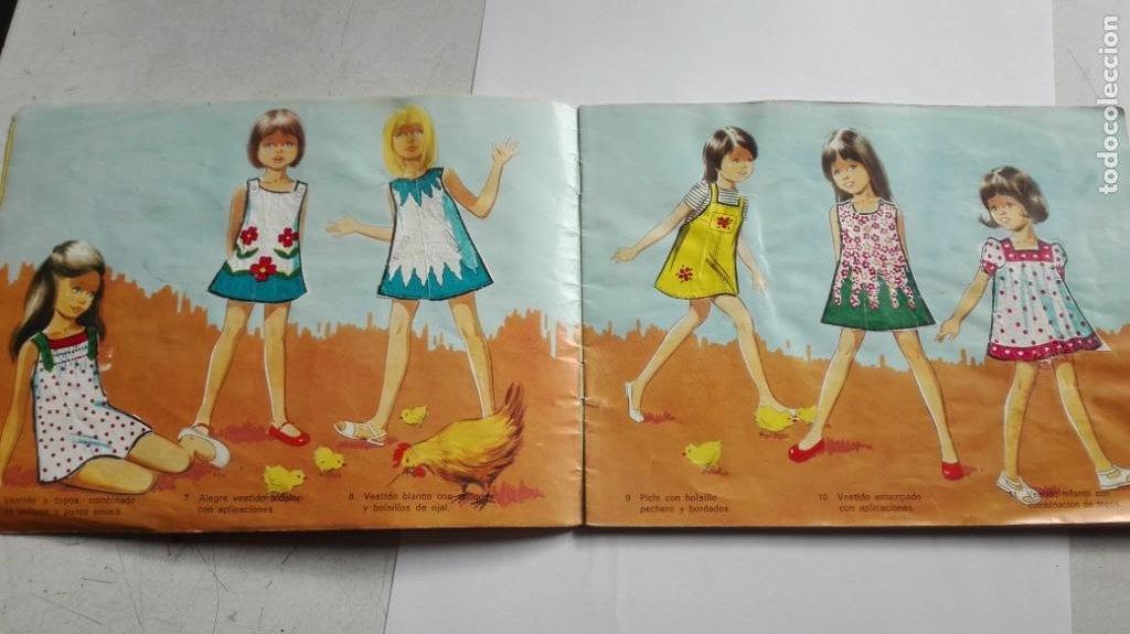 Coleccionismo Álbumes: ALBUM FIGURINES CHICLES NIÑA 41 CROMOS - Foto 8 - 195389603