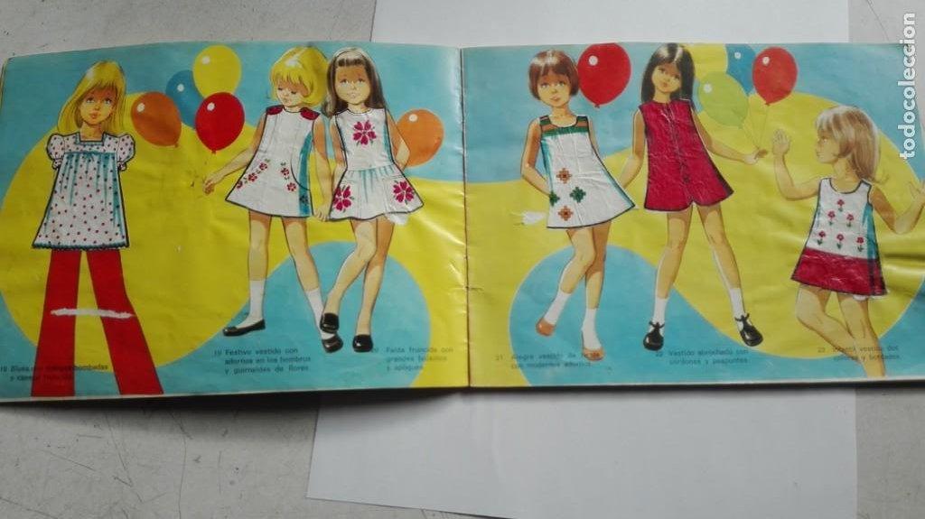 Coleccionismo Álbumes: ALBUM FIGURINES CHICLES NIÑA 41 CROMOS - Foto 10 - 195389603
