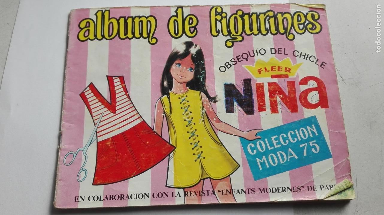 ALBUM FIGURINES CHICLES NIÑA 41 CROMOS (Coleccionismo - Cromos y Álbumes - Álbumes Incompletos)