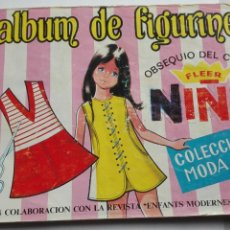 Coleccionismo Álbumes: ALBUM FIGURINES CHICLES NIÑA 41 CROMOS. Lote 195389603