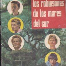 Coleccionismo Álbumes: LOS ROBINSONES DE LOS MARES DEL SUR - ÁLBUM DE CROMOS INCOMPLETO ( FALTAN SOLO 10 CROMOS) - 1962. Lote 195396840
