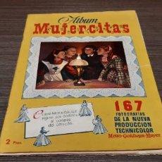 Coleccionismo Álbumes: ANTIGUO ALBUM MUJERCITAS COMPLETO 167 FOTOGRAFÍAS TECHNICOLOR. Lote 195404610