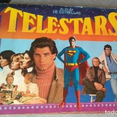 Coleccionismo Álbumes: ALBUM DE ESTRELLAS TELE STARS TELESTARS A FALTA DE 7 CROMOS. Lote 195438500