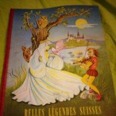 Coleccionismo Álbumes: ALBUM NESTLE BELLES LEGENDES SUISSE 1955,VOL 2,FALTAN 24 CROMOS. Lote 195446597
