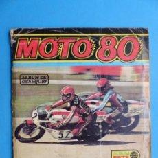 Coleccionismo Álbumes: ALBUM CROMOS - MOTO 80, ED. ESTE - AÑO 1977, VER DESCRIPCION Y FOTOS. Lote 195501061