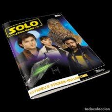 Coleccionismo Álbumes: ÁLBUM STICKER SOLO: A STAR WARS STORY. Lote 195502677